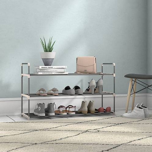 Modern Shoe Rack for 15 Pairs