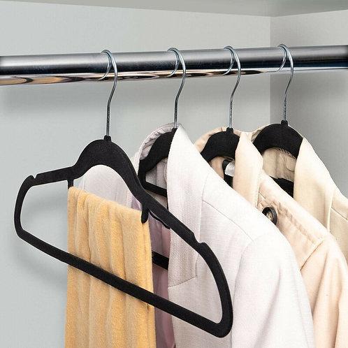 Non-slip Velvet 10 Hangers
