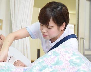 看護師や職員に頼られる医療を提供する病院スタッフ
