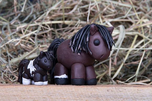 Fimo Pferdchen