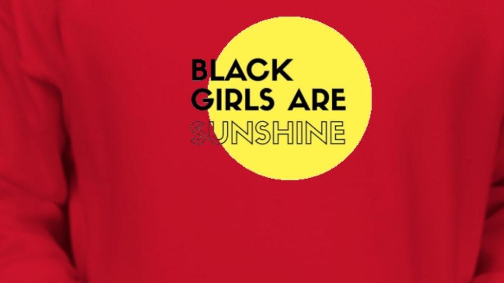 Red Black Girls Are Sunshine