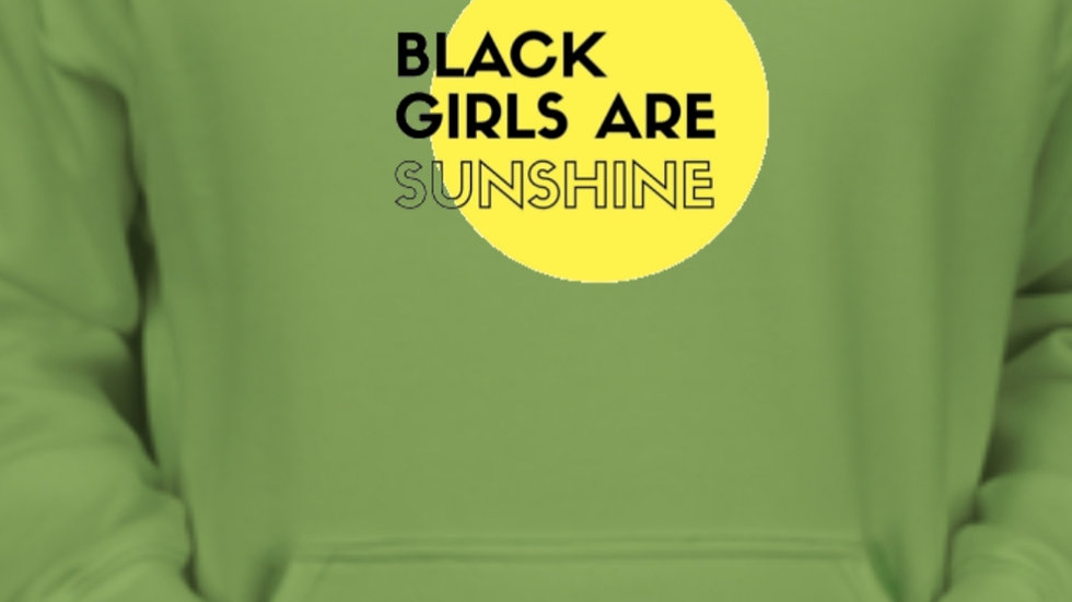 Kiwi Black Girls Are Sunshine Hoodie