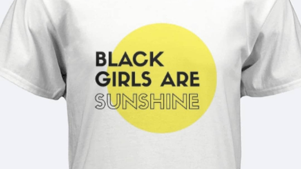 Black Girls Are Sunshine Tee