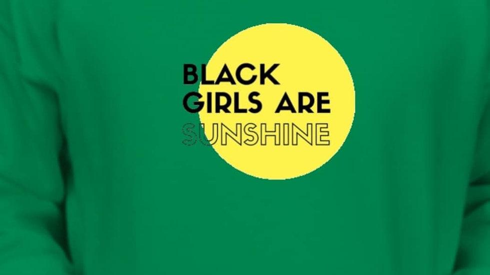 Black Girls Are Sunshine Hoodie