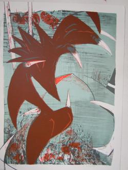 Clifton Pugh Lithograph 1972