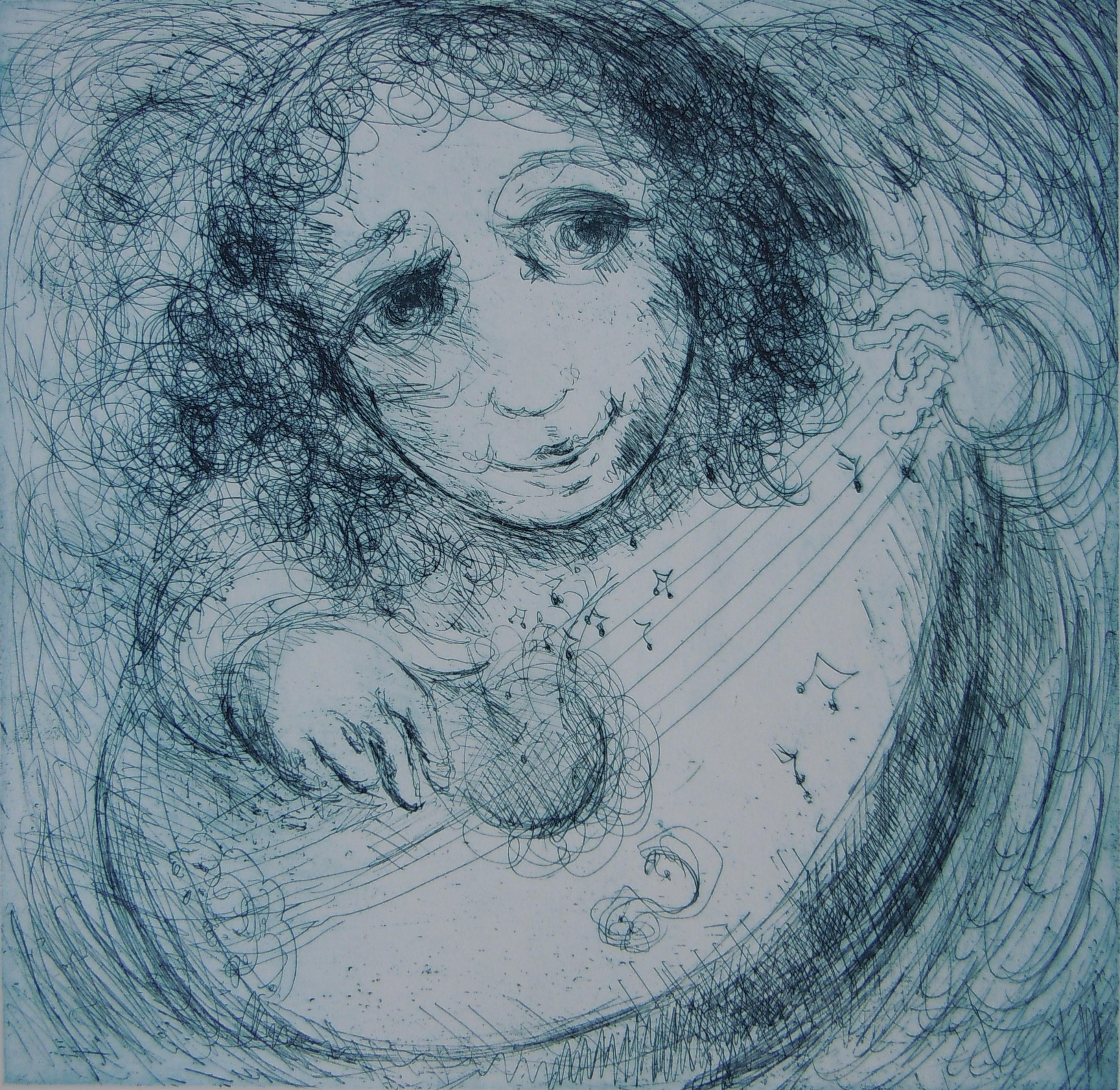Musician Blue