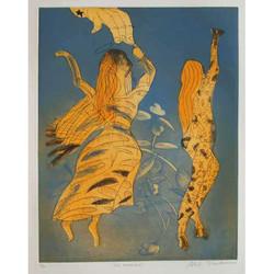 Two Angels I, 1998