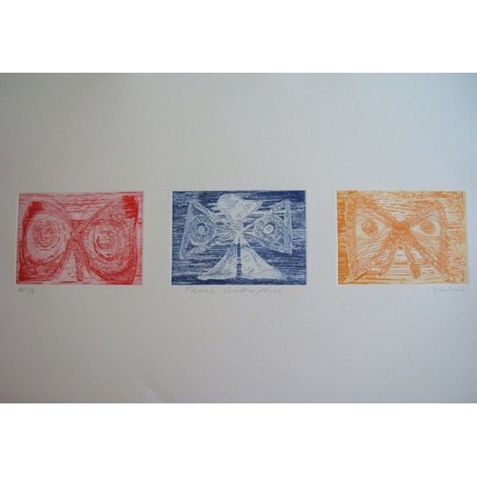 Three Butterflies, 1998