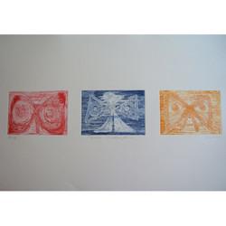 Three Butterflies, 1998