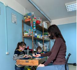Консультация в кабинете с детьми
