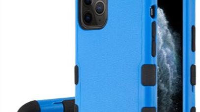 Iphone 11 Pro Max Kickstand Blue three piece