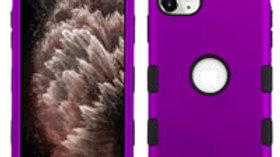 Iphone 11 Purple three piece tuff case