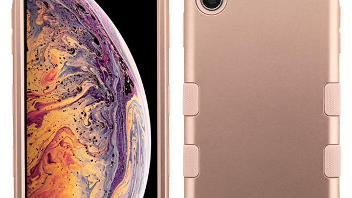 Iphone XS Max Rose Gold Three piece
