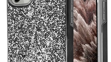 Iphone 11 Black Rhinestone Case