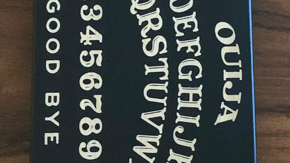 Iphone X/XS- Ouija Wood Case