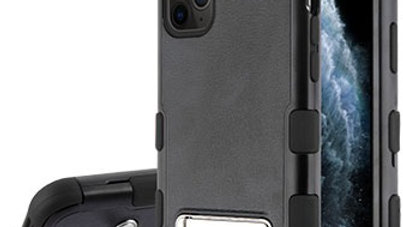 Iphone 11 Pro Max Black Kickstand three piece