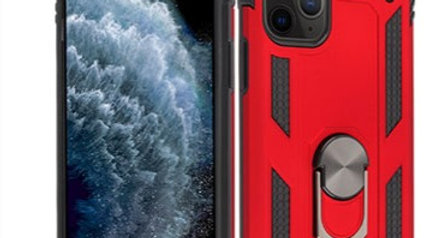 Iphone 11 Pro Max Red Ring Stand