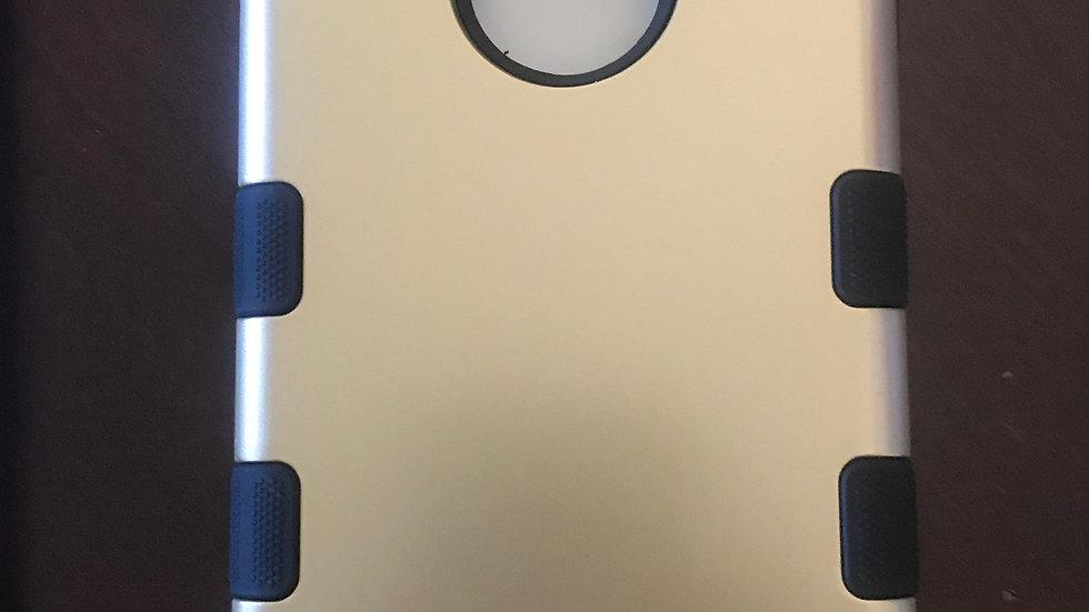 Iphone 7/8+ Gold three piece case
