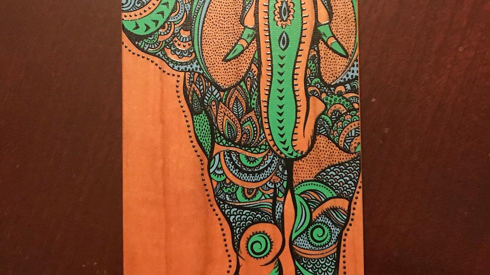 Iphone 7/8 Wood Elephant Color
