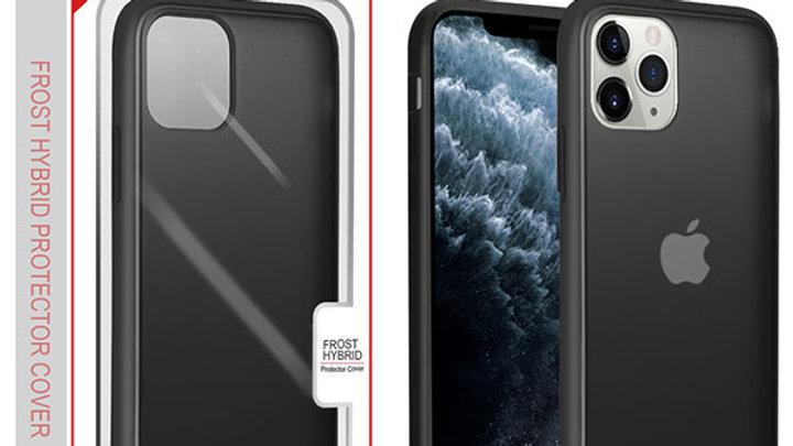 Iphone 11 Transparent Smoke Black edge
