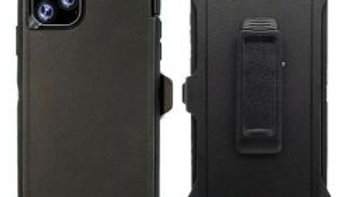 Iphone 11 Pro Max Black Heavy Duty Case
