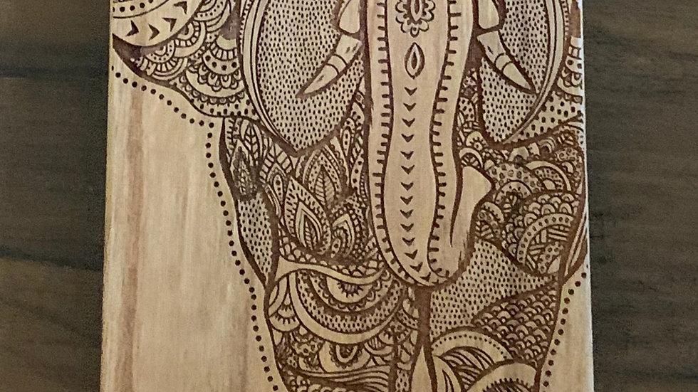 Iphone X/XS- Elephant Wood Case