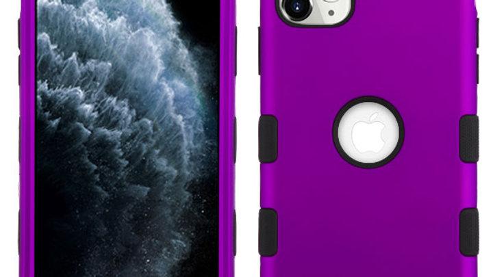 Iphone 11 Pro Max Purple three piece tuff case