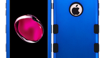 Iphone 7/8+ Blue three piece tuff case