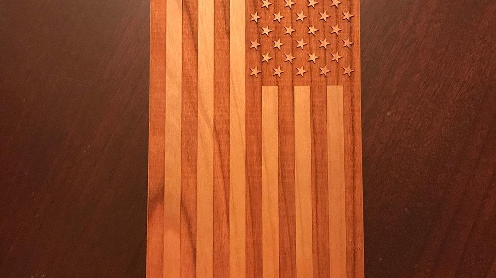 Iphone 7/8 Wood American Flag