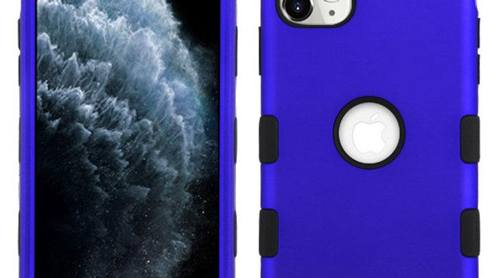 Iphone 11 Pro Max  Blue three piece tuff case