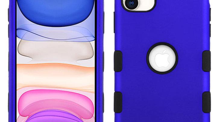 Iphone 11 Blue three piece tuff case
