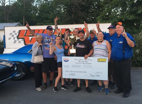 Fetch Victorious in All Star Memorial Race