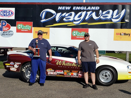 Whitehead Wheels His Way to ASRA Victory