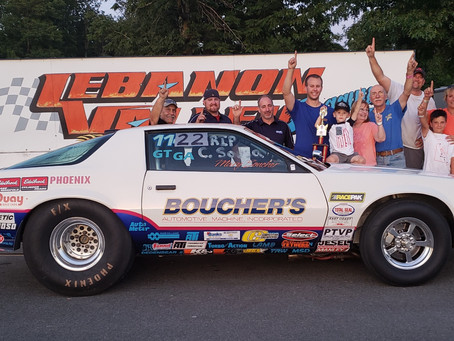 TJ Boucher Tops Field for Win and ASRA Championship