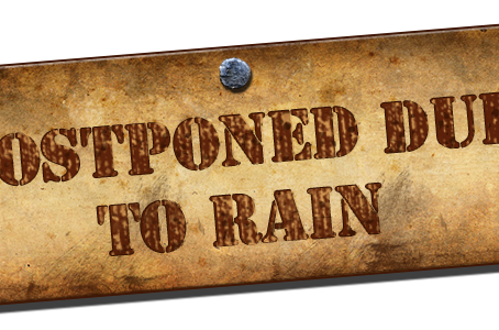 ASRA Race #1 Postponed to Sunday, June 3rd