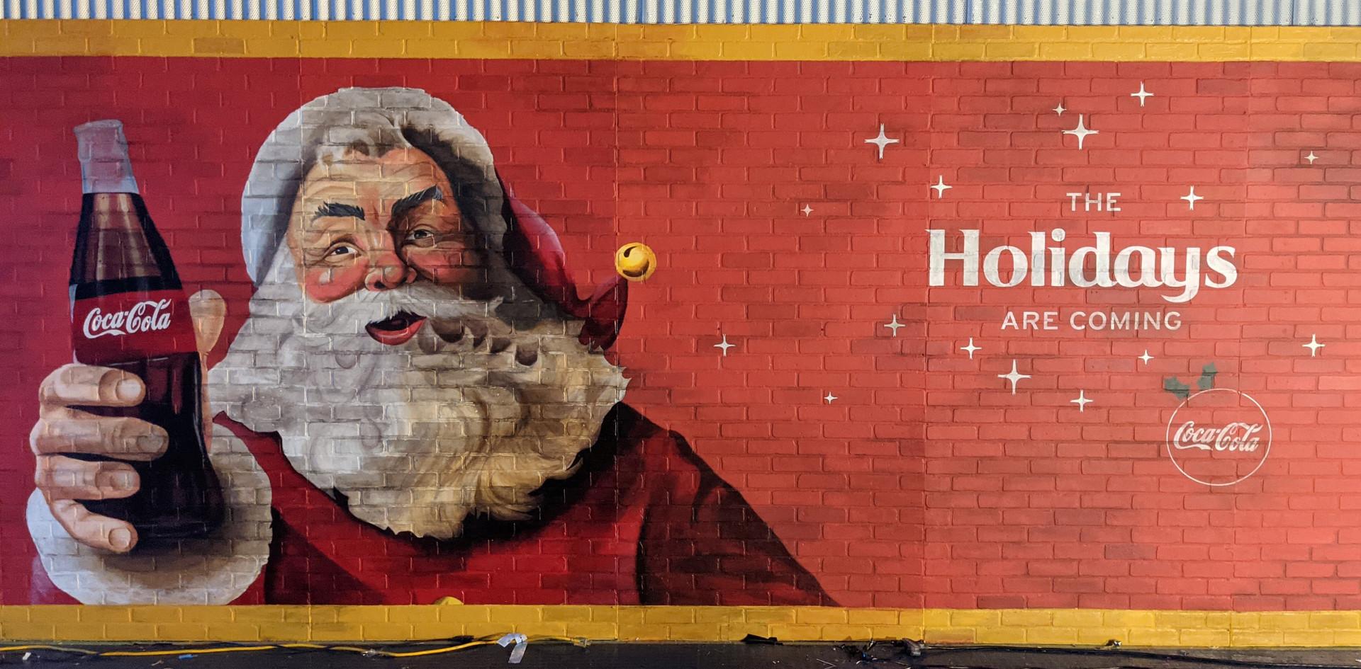 Santa Mural