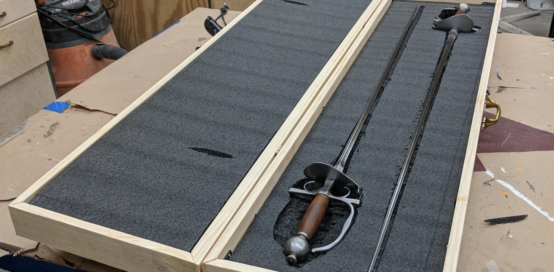 Sword Case: Progress