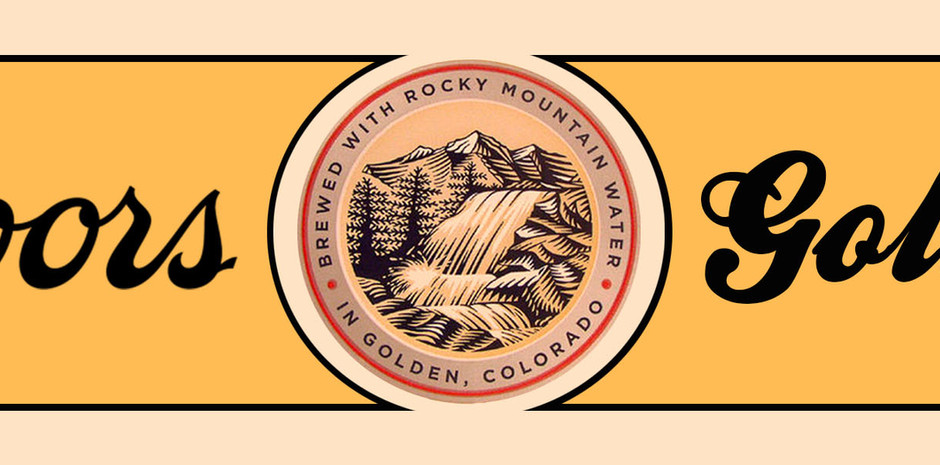 Coors bottle neck label for designs #3 and #4