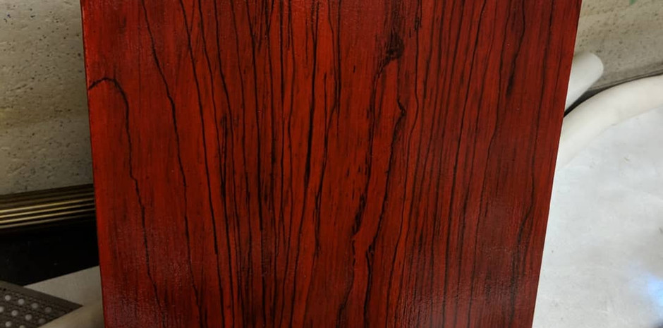 Faux Finish: Stained Cherry