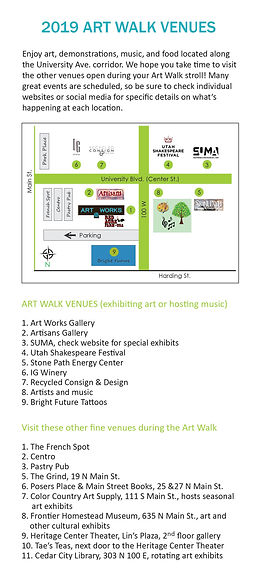 CC Art Walk MAP_2019