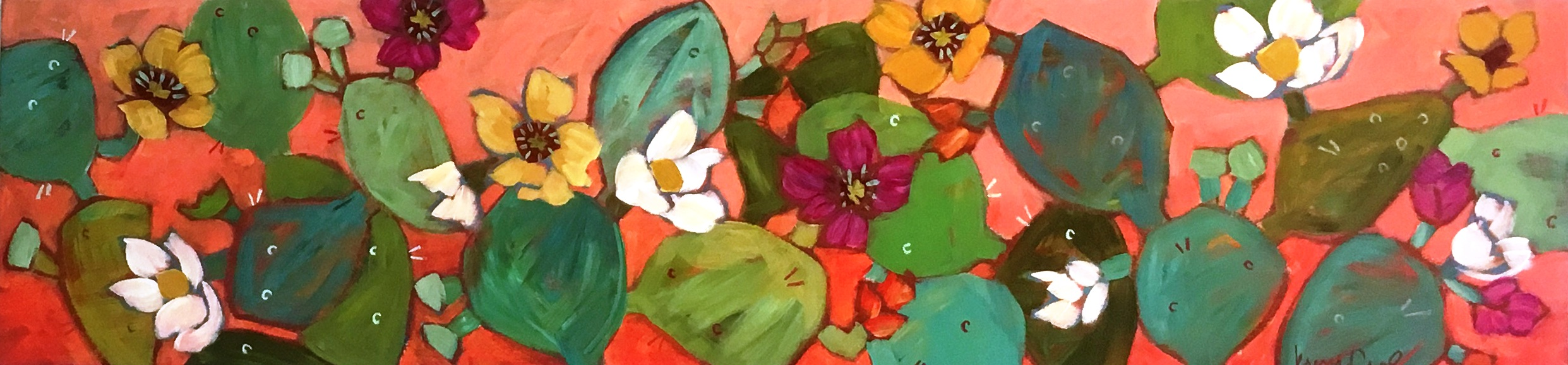 Coral Prickly Pear
