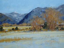 Winter Fields Boulder