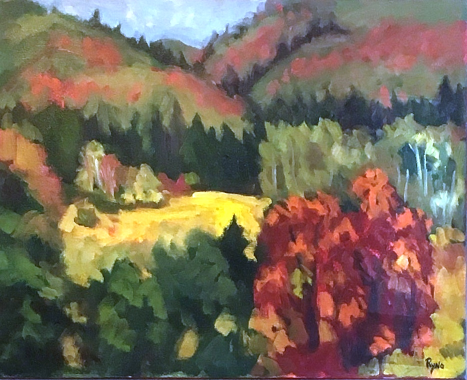 Cedar Mountainside