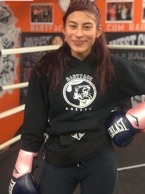 BabyFace Boxing Sweatshirt with Hoody
