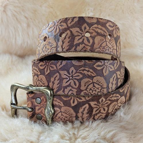 Aloha Handpainted Vintage Belt