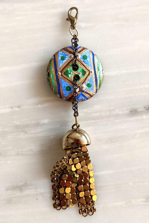 Upcycled Harmony with Nature Rune Charm