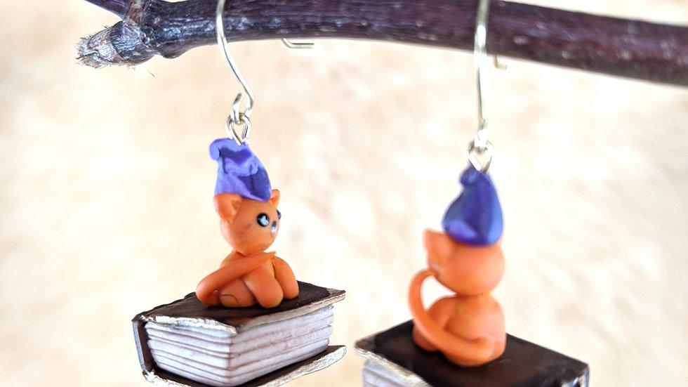Critical Role Kitten Frumpkin Earrings
