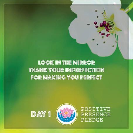 April 8 - Take the Positive Presence Pledge!