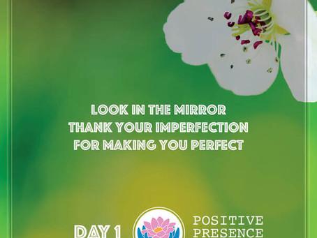 April 8 - Take the Positive Presence Pledge