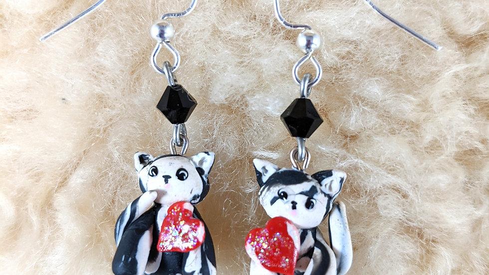 Tiger Cub Earrings